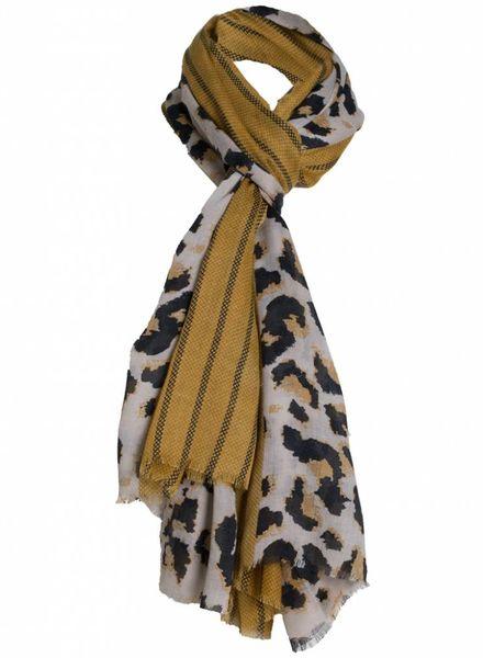Sjaal kay okergeel