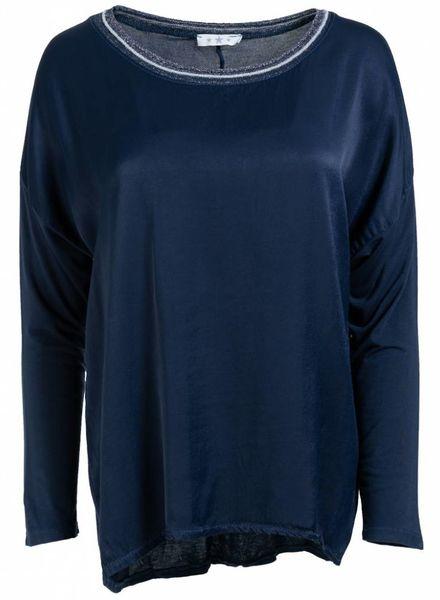 Gemma Ricceri Shirt Lena donkerblauw
