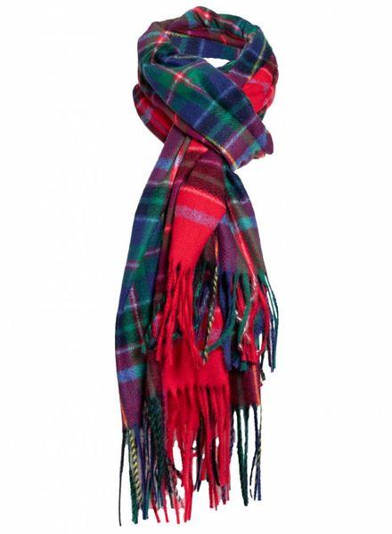 Sjaal schotse ruit rood