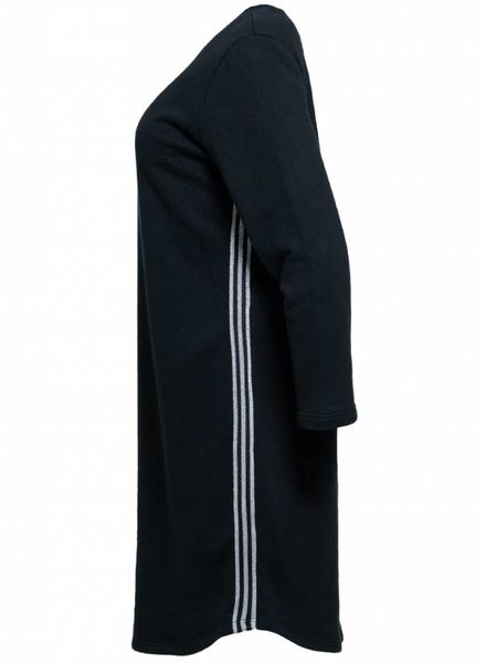 Gemma Ricceri Sweaterdress Bay zwart/zilver