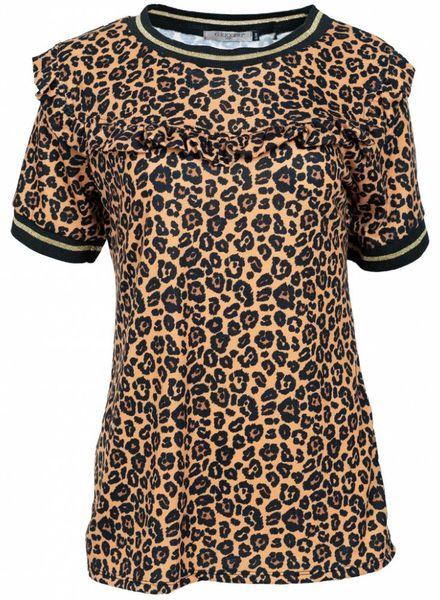 Gemma Ricceri Shirt panter Jailey okergeel