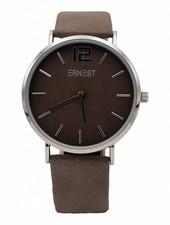 Horloge Siska donkerbruin
