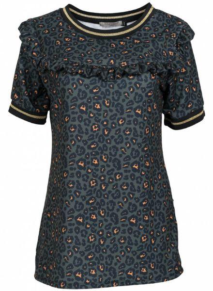 Gemma Ricceri Shirt panter Jailey groen