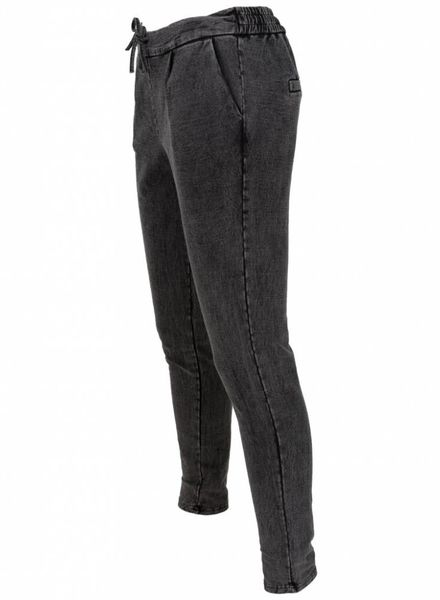 Rebelz Collection Jog jeans Patty antraciet