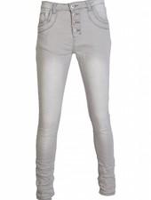 place du Jour Jog jeans Chelsie grijs