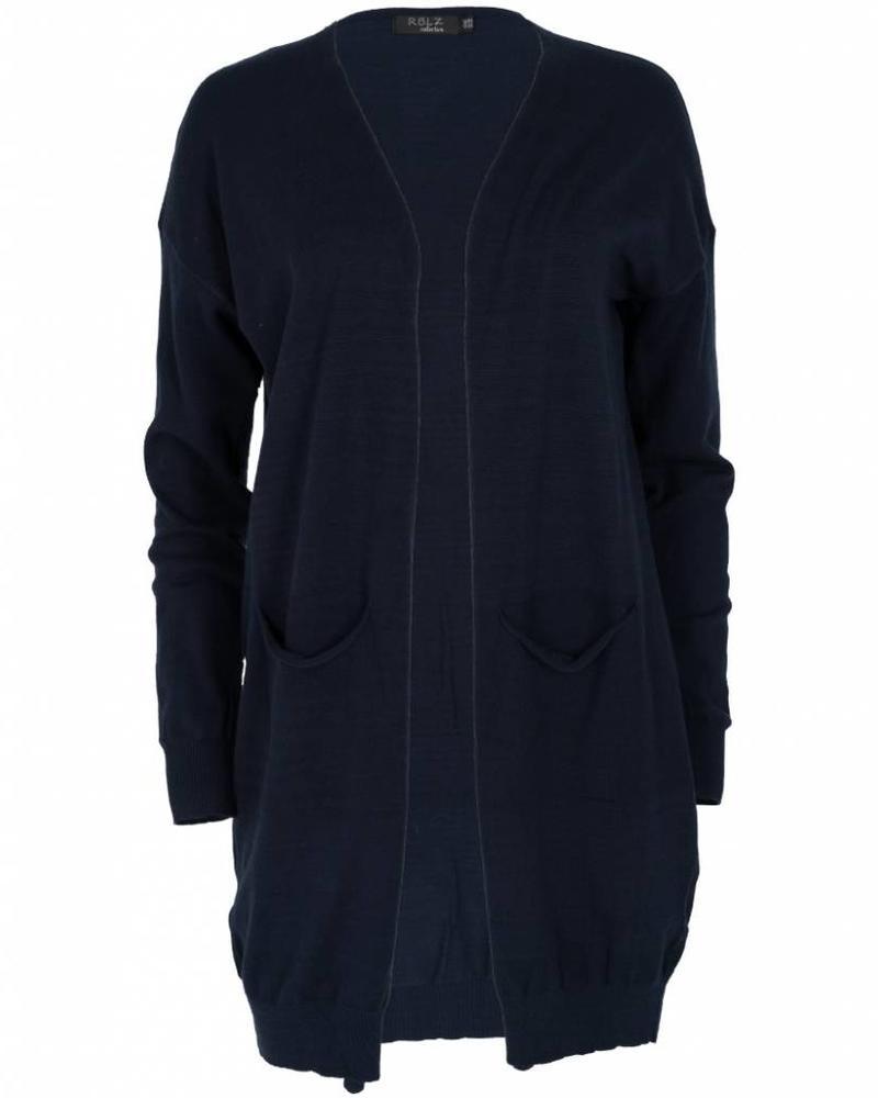 Rebelz Collection Vest Tine blauw