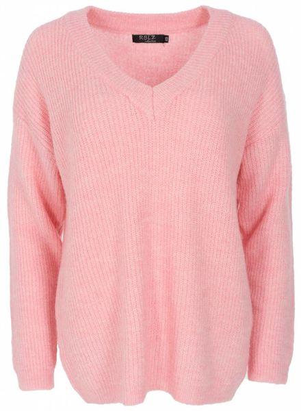 Rebelz Collection Trui Dorien roze