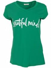 Gemma Ricceri Shirt beautiful minds Guccigroen