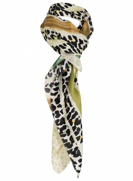Sjaal Denise groen/geel