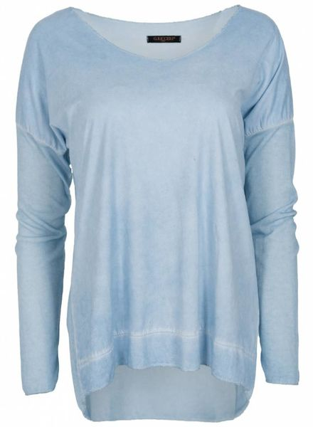 Gemma Ricceri Shirt basic karin babyblauw