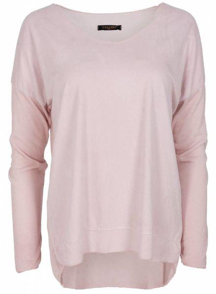 Gemma Ricceri Shirt basic Karin roze