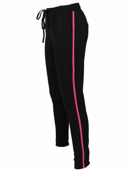 Rebelz Collection Pantalon Kora zwart/roze