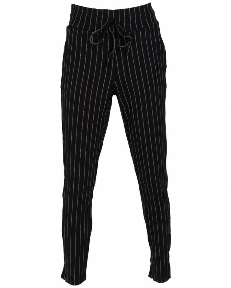 Rebelz Collection Pantalon Kora zwart/wit