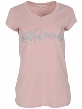 Gemma Ricceri Shirt beautiful minds roze/grijs