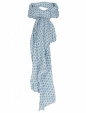 Rebelz Collection Sjaal blokjes blauw