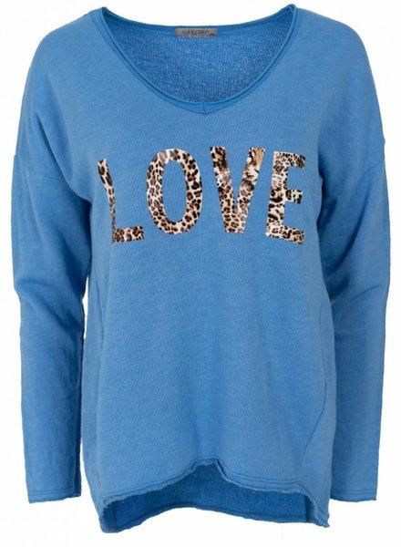 Gemma Ricceri Sweater Lies kobalt