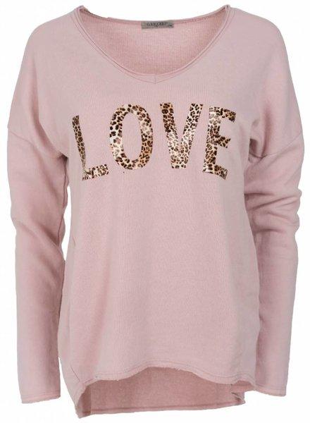Gemma Ricceri Sweater Lies roze