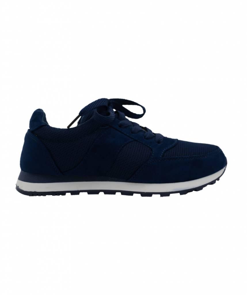 3e4333e0244 Sneaker Nova donkerblauw - Wannahavesfashion