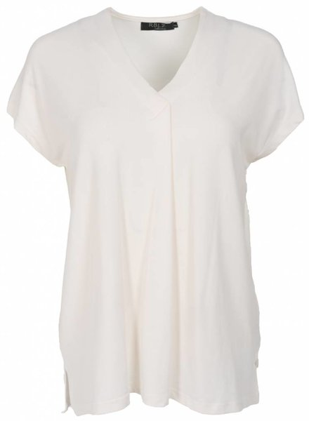 Rebelz Collection Shirt Rosa off-white