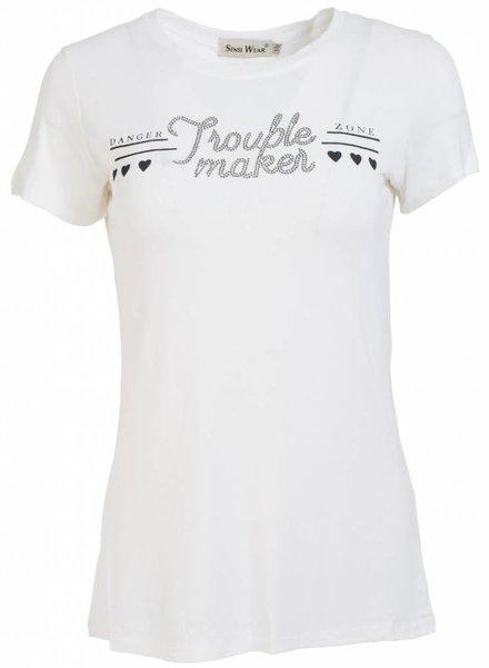 Shirt trouble maker wit