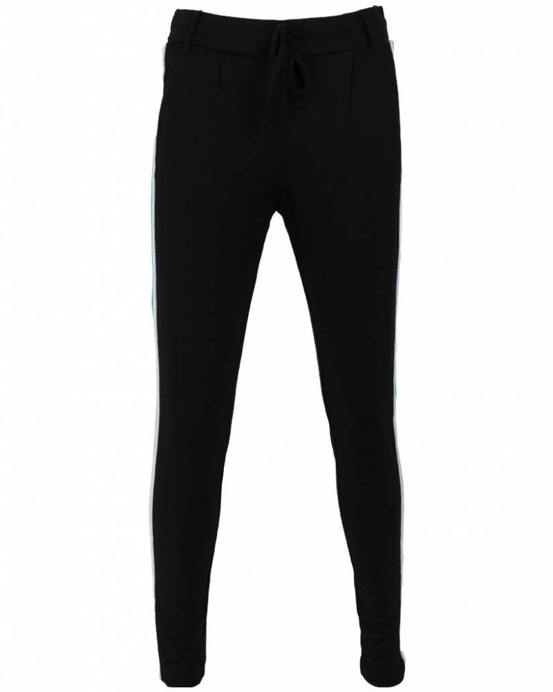 Rebelz Collection Pantalon Lydia bies zwart