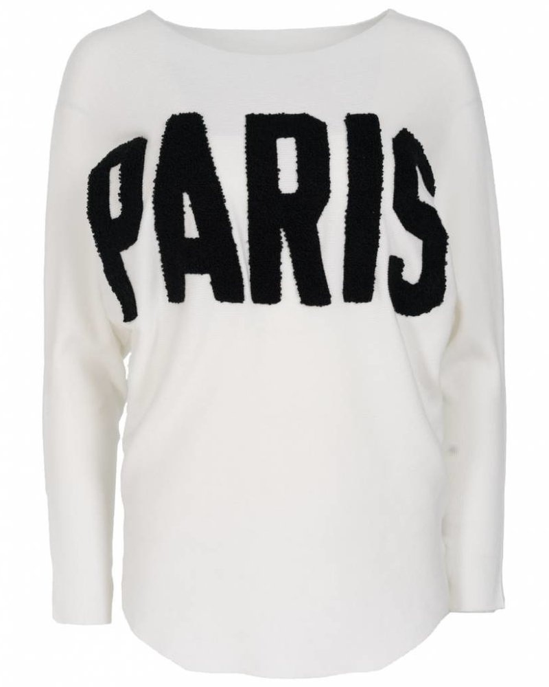 Wannahavesfashion Trui Paris wit