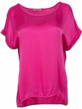 Gemma Ricceri Shirt silk touch fuchsia