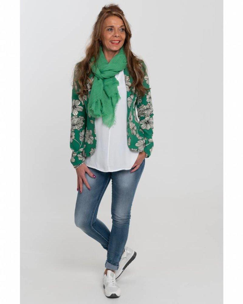 Gemma Ricceri Blazer Fleur groen