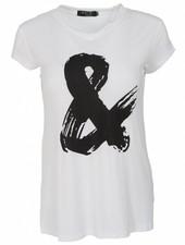 Rebelz Collection Shirt Mijs wit