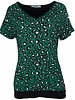Gemma Ricceri Shirt Karin v hals groen