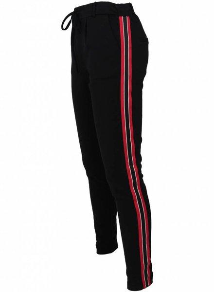 Rebelz Collection Pantalon Mikki bies rood