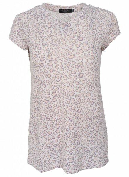 Rebelz Collection Shirt Lot panterprint lila
