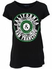 Gemma Ricceri Shirt California zwart/groen
