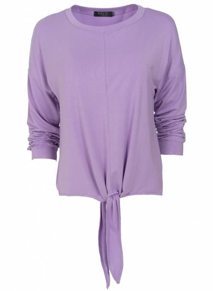 Rebelz Collection Shirt knoop lila