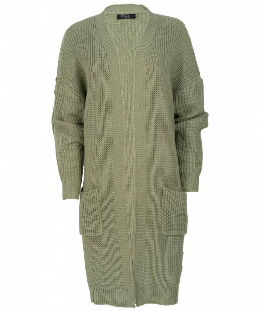 Rebelz Collection Vest Lia groen