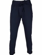 Gemma Ricceri Jogging broek Natas donkerblauw