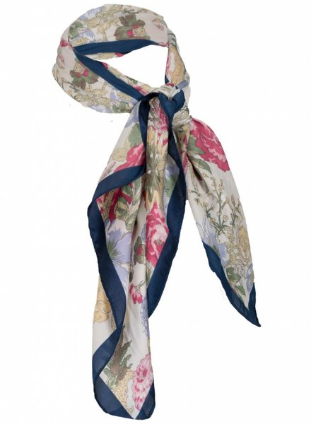 Wannahavesfashion Sjaal Dames Bandana flower