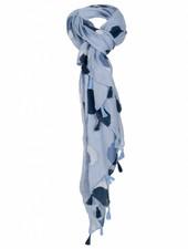 Rebelz Collection Sjaal Ruth stip blauw