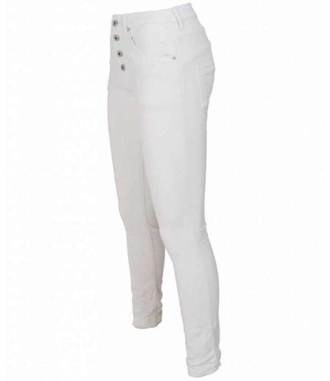 place du Jour Jog jeans Leonie wit