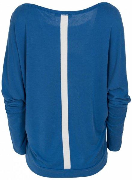 Rebelz Collection Shirt Mayke kobalt/wit