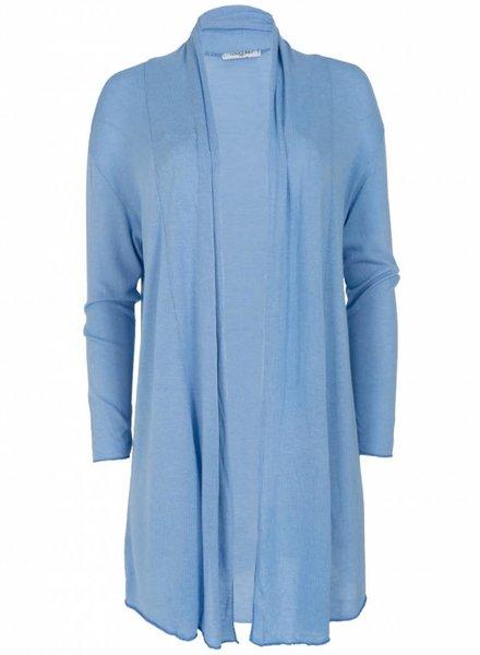 Gemma Ricceri Vest Jody basic jeansblauw