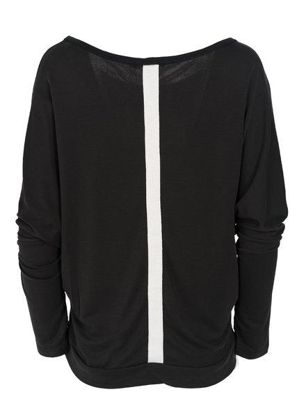 Rebelz Collection Shirt Mayke zwart/wit