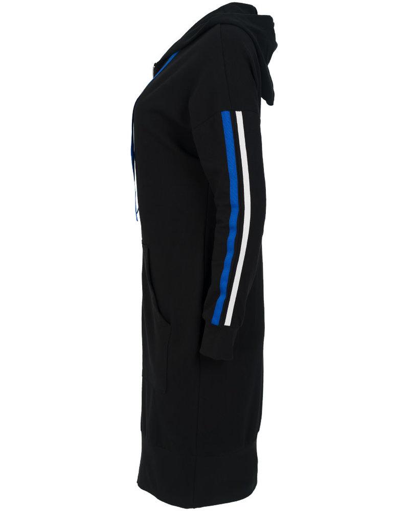 Gemma Ricceri Vest Ilse zwart/kobalt