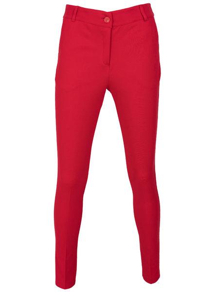 Vera Jo Pantalon Deni rood
