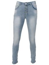 place du Jour Jog jeans Leonie bleach