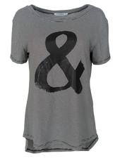 Gemma Ricceri Shirt Kati streep zwart/wit