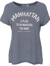 Gemma Ricceri Shirt Manhattan streep wit