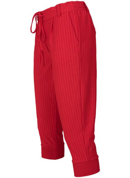 Rebelz Collection Capri Roos streep rood