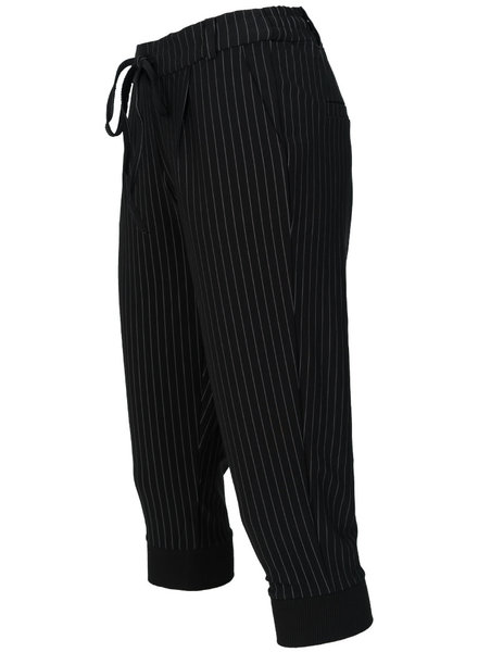 Rebelz Collection Capri Roos streep zwart