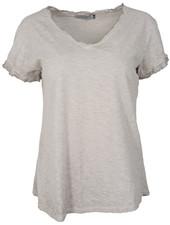 Gemma Ricceri Shirt Jenn basic grijs